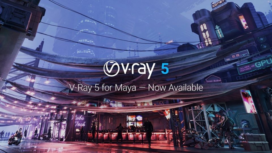 Chaos Group Releases V-Ray for Maya